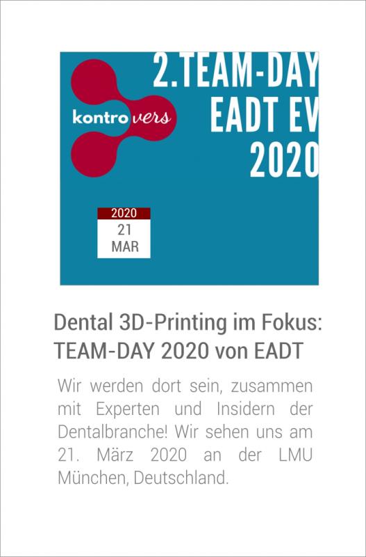 Team Day 2020 von European Association of Dental Technology (EADT)