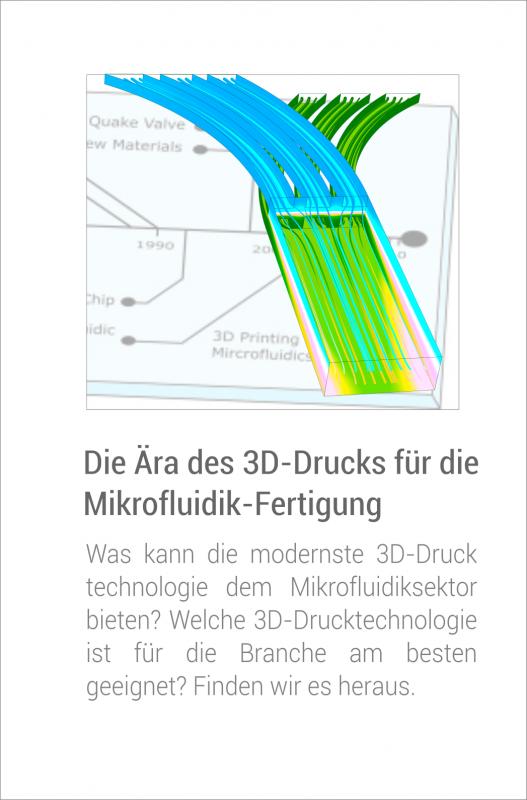 3D Druck für Mikrofluidik